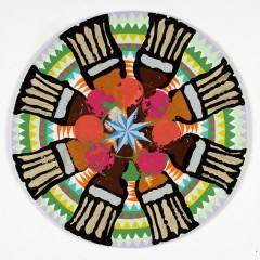 Christine Streuli: Für's Grobe, 2008,