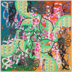 Christine Streuli: Du hier, Ich dort, 2008,