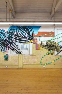 Christine Streuli: gradually_real, 2014, 19. Sydeny Biennale, Sydney / Australia