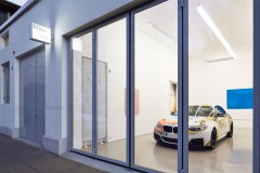 Christine Streuli: BMW_Georgi, 2014, Mark Müller Gallery, Zurich / Switzerland