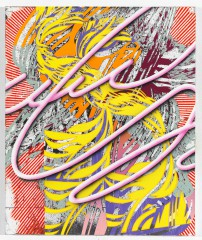 Christine Streuli: Marshmellow, 2014, Monica De Cardenas Gallery, Milan / Italy