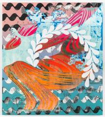 Christine Streuli: sparkling, 2014, Monica De Cardenas Gallery, Milan / Italy