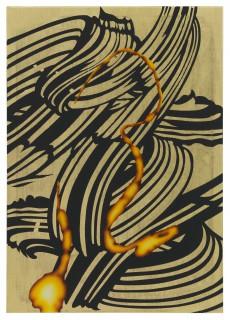 Christine Streuli: Füllschaum_04, 2014, Monica De Cardenas Gallery, Milan / Italy