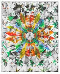 Christine Streuli: Splitter, 2011,