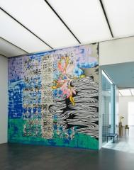 Christine Streuli: Seestück, 2013, Kunstmuseum Luzern, Lucerne / Switzerland