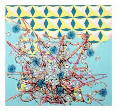 Christine Streuli: spike, 2007,