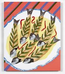 Christine Streuli: Französische Forelle mit Aspik-Überzug, 2008, Aargauer Kunsthaus Aarau / Switzerland