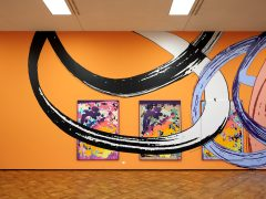 Christine Streuli: Lange Arme, kurze Beine, 2020, Kunstmuseum Thun / CH